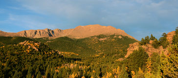 Pikes Peak Morning Royalty Free Stock Image