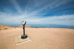 Pikes Peak Mountain Colorado, 2015 Royalty Free Stock Photo