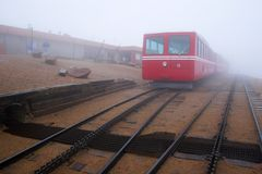 Pikes Peak Railroad Royalty Free Stock Image