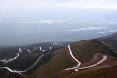 Pikes Peak road Stock Images