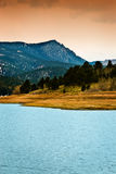 Pikes Peak Rocky Mountain Lake Stock Photography
