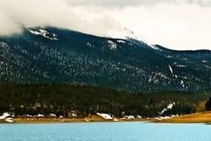 Pikes Peak Rocky Mountain Lake Royalty Free Stock Images