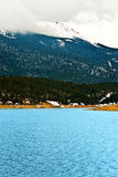 Pikes Peak Rocky Mountain Lake Stock Image
