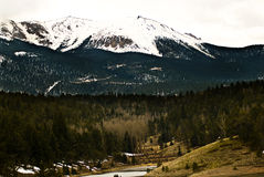 Pikes Peak Rocky Mountain Landscape Royalty Free Stock Image
