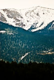 Pikes Peak Rocky Mountain Landscape Stock Photo