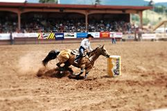 Pikes peak rodeo royalty free stock image