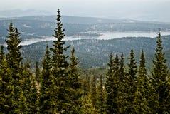 Pikes Peak Summit View Stock Photography