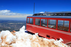 Pikes Peak Train Royalty Free Stock Photography