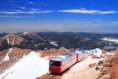 Pikes Peak Train Stock Photography