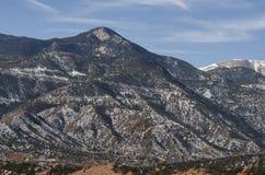 Pikes Peak view. From the Garden of the Gods Colorado Springs , Colorado Stock Photos