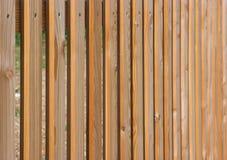 Piketomheining, houten omheining Stock Fotografie