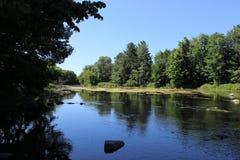 Pikflod i Quebec Arkivfoto