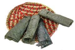 Piki-Brot - Hopi Indian Stockfoto