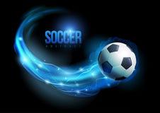Piłki nożnej piłka Obraz Royalty Free