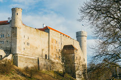 Pikk Hermann or Tall Hermann tower, Tallinn, Estonia Royalty Free Stock Photography