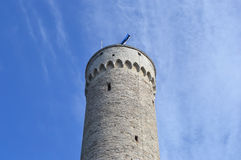 Pikk Hermann tower in Tallinn. Royalty Free Stock Photography