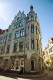 Pikk ulica - Tallinn, Estonia Obrazy Royalty Free