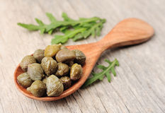 Pikled capers Stock Images