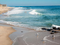 Piękna Asbury parka plaża Zdjęcia Royalty Free