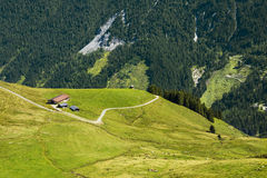 Piękna Brixen dolina i Kitzbuhel Alps, Austria Obraz Royalty Free