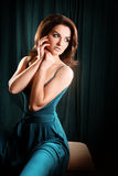 piękna kobieta Obraz Royalty Free