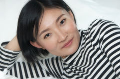 piękna kobieta chińska Obrazy Royalty Free