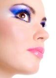 piękna makeup Zdjęcia Royalty Free