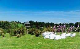 Piękna Plenerowa Ślubna lokacja Zdjęcie Stock