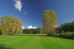 piękna sceneria jesieni Fotografia Stock