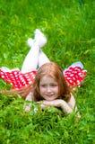 Piękna smokingowa dziewczyna Fotografia Royalty Free
