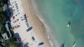 Piękna srilankan plaża Obrazy Royalty Free