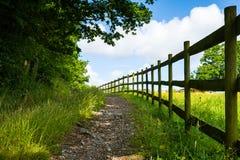 piękna wieś dni drogi lato Zdjęcia Royalty Free