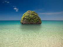 piękna wyspa Fotografia Royalty Free