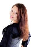 pięknego portreta smilling kobieta Zdjęcie Royalty Free