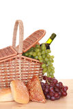 Piknik basket Stock Photography