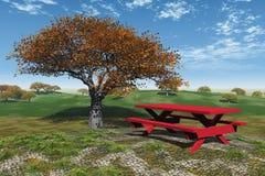 piknik jesieni Fotografia Royalty Free