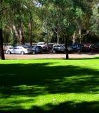 piknik na parkingu zdjęcia stock