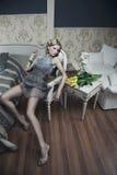 piękno blondynka Zdjęcia Stock