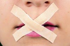piękno cenzurujący Zdjęcia Royalty Free