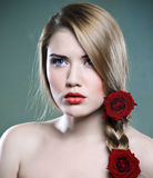 piękno róże Zdjęcia Royalty Free