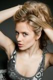 piękno włosy Fotografia Stock