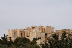 Piękny akropol w Ateny, Grecja Fotografia Stock