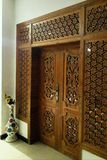 Piękny Domowy drzwi Zdjęcia Stock