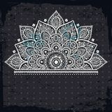 Piękny rocznika ornament Zdjęcie Royalty Free