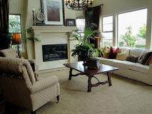 piękny żywy pokój Zdjęcia Royalty Free