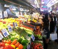 Piks marknad för ställebönder Royaltyfri Foto