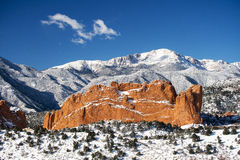 Piks maximum, Amerika berg Royaltyfri Foto