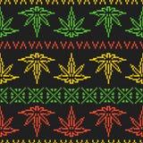 Piksel sztuki gry stylu rasta świrzepy liścia bezszwowy wektorowy tło ilustracji