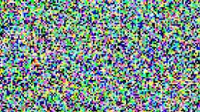 Piksla Parawanowego tła wektor Hałasu sygnału Lcd piksla ekran Łamany widok Błędu wideo Cyfrowego projekt Analogowy monitor royalty ilustracja