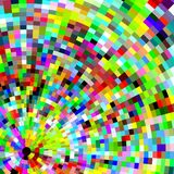 Piksla skutek, kolorowy wizerunek i tło, Zdjęcie Stock